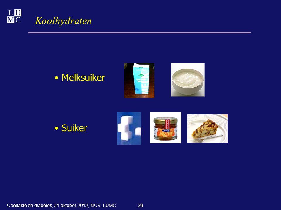 Koolhydraten Melksuiker Suiker