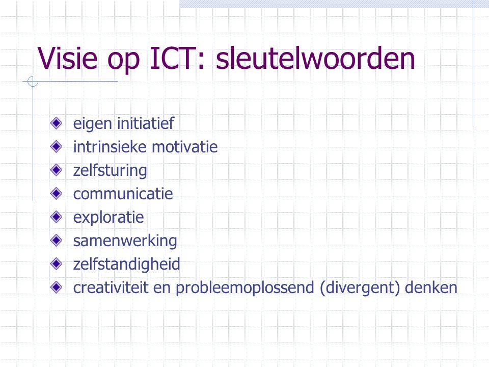 Visie op ICT: sleutelwoorden