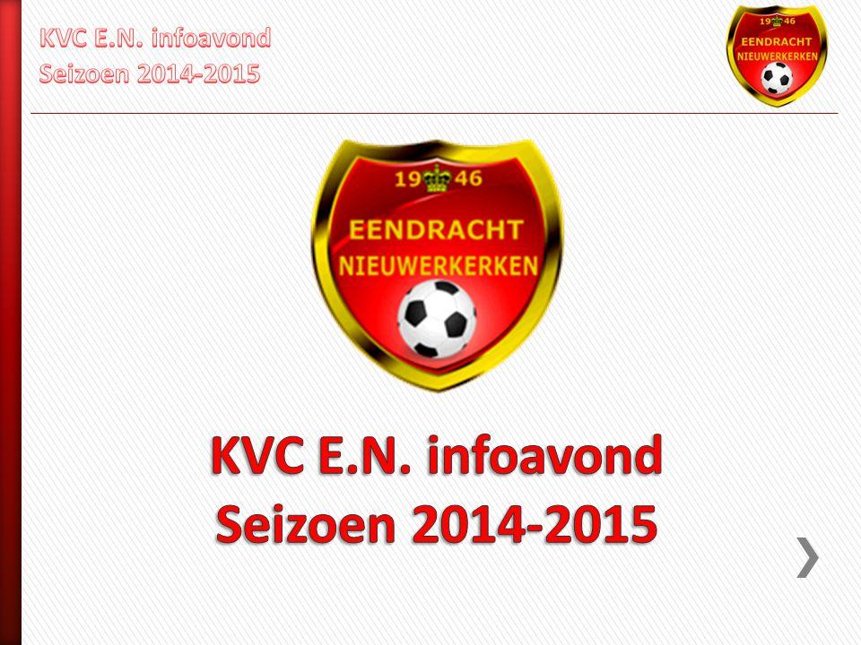 KVC E.N. infoavond Seizoen 2014-2015