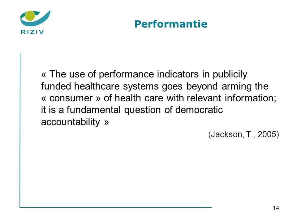 Performantie
