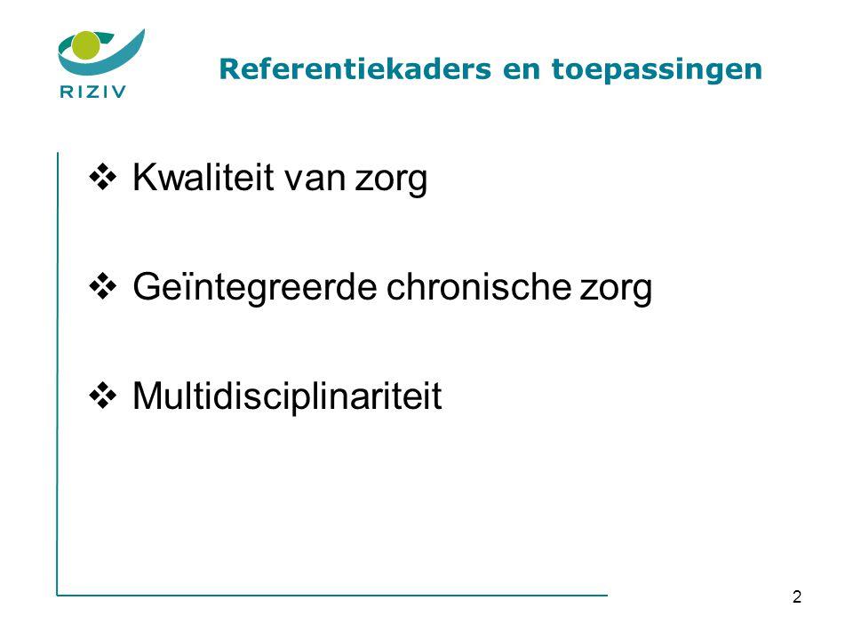 Referentiekaders en toepassingen