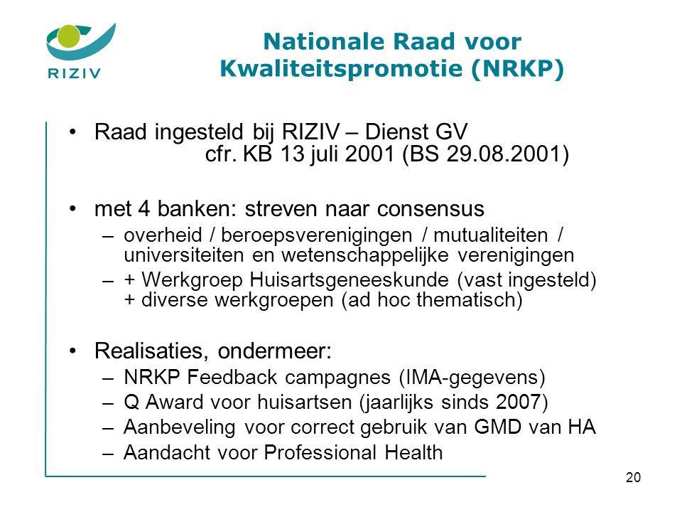 Nationale Raad voor Kwaliteitspromotie (NRKP)