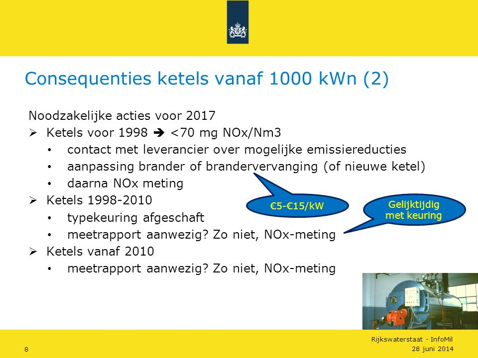 Consequenties ketels vanaf 1000 kWn (2)