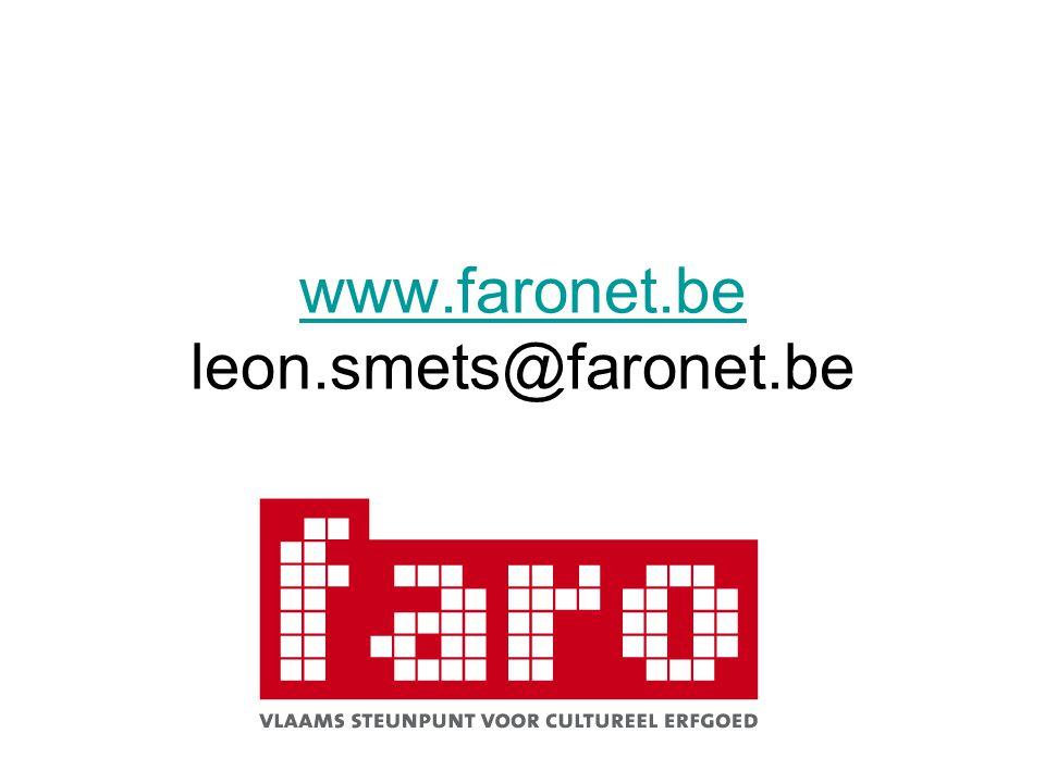 www.faronet.be leon.smets@faronet.be