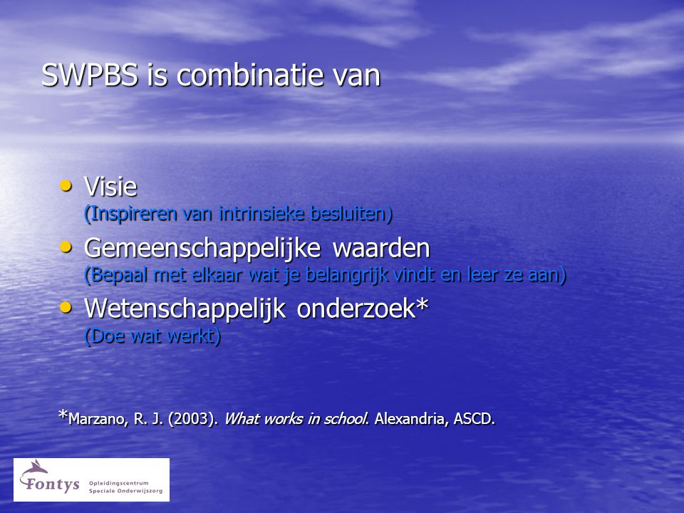 SWPBS is combinatie van