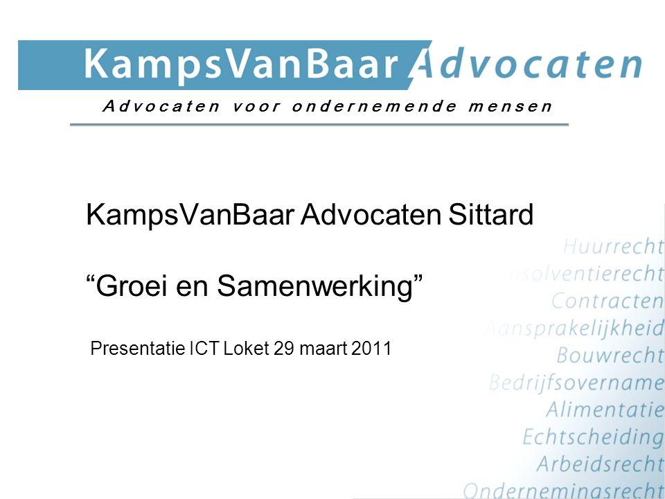 KampsVanBaar Advocaten Sittard Groei en Samenwerking