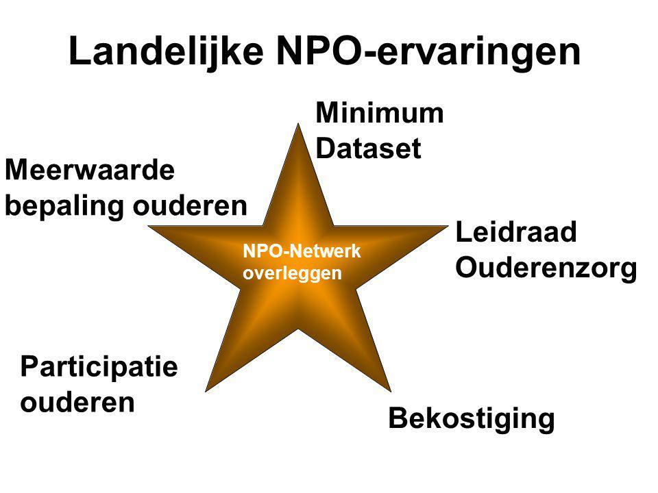 Landelijke NPO-ervaringen