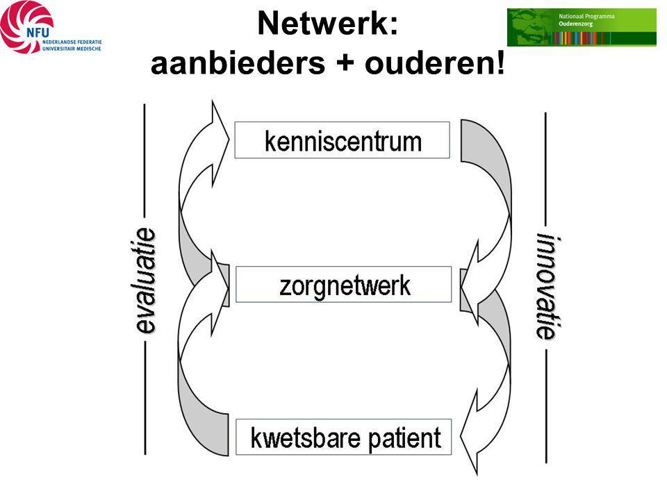 Netwerk: aanbieders + ouderen!