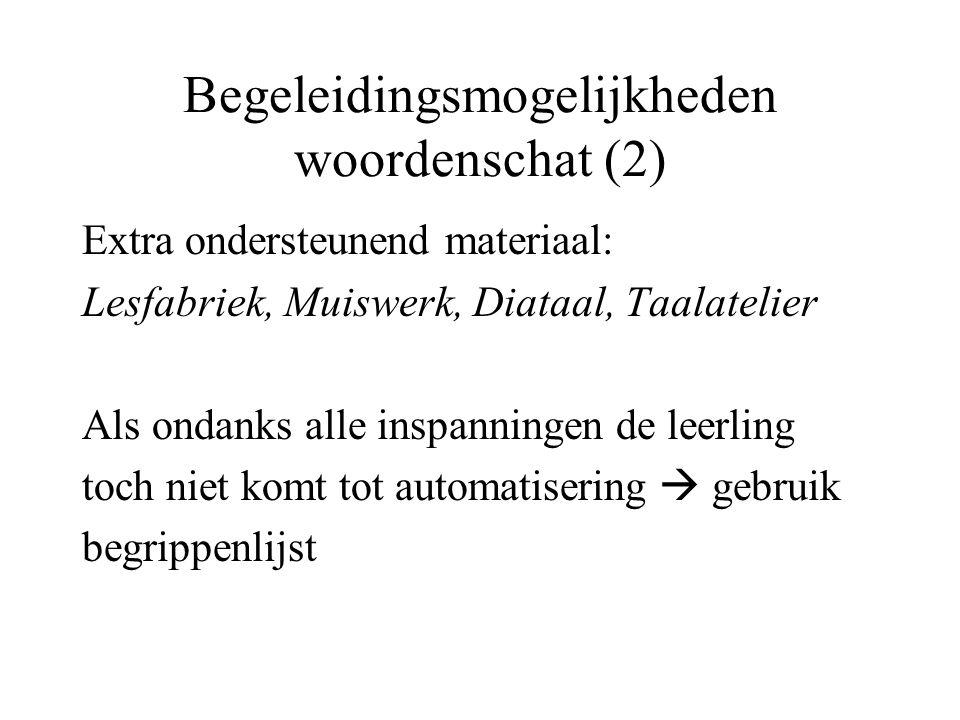 Begeleidingsmogelijkheden woordenschat (2)
