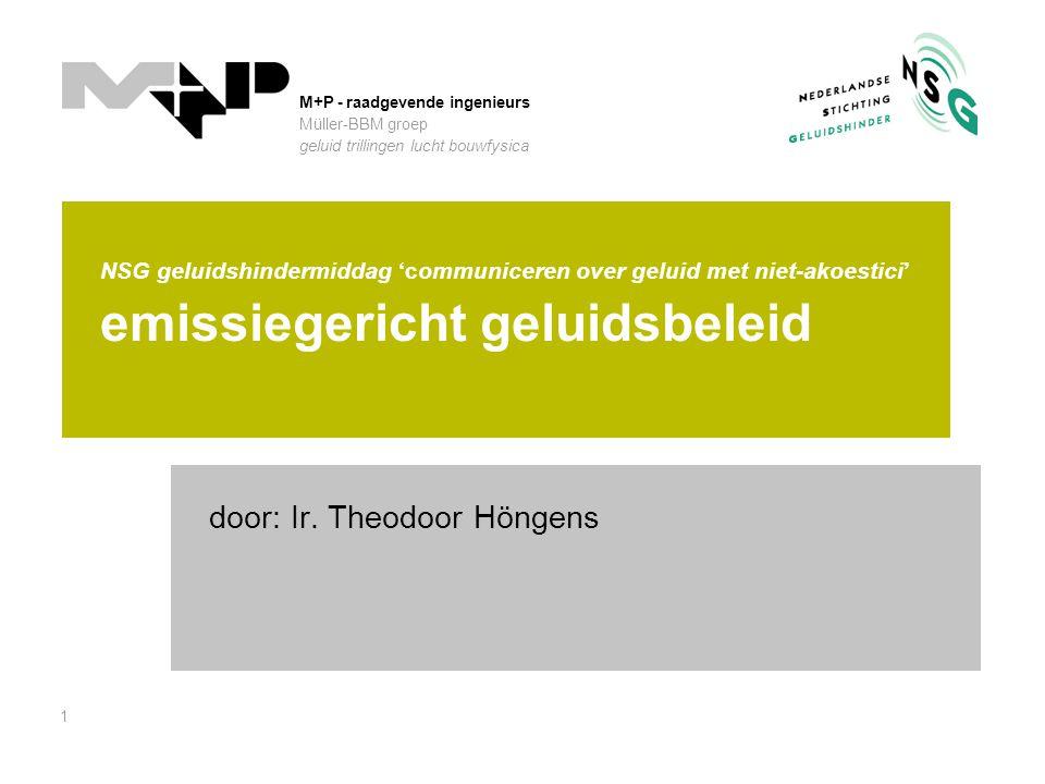 door: Ir. Theodoor Höngens
