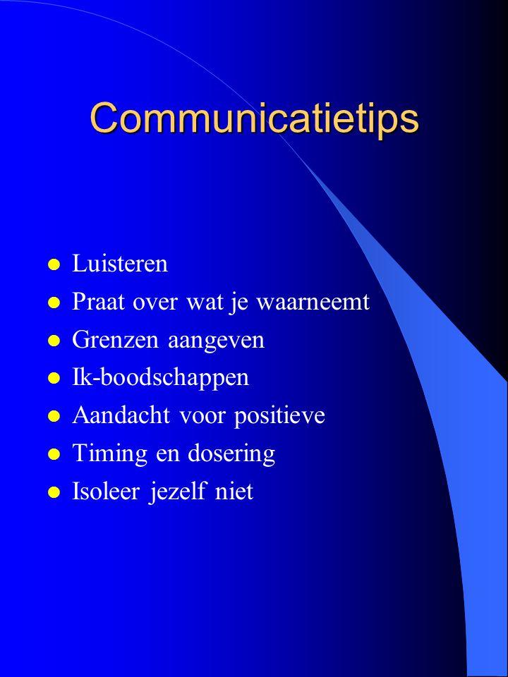 Communicatietips Luisteren Praat over wat je waarneemt