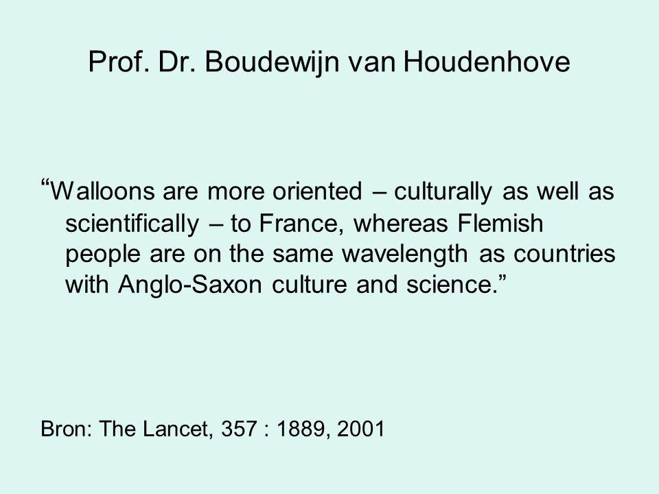 Prof. Dr. Boudewijn van Houdenhove