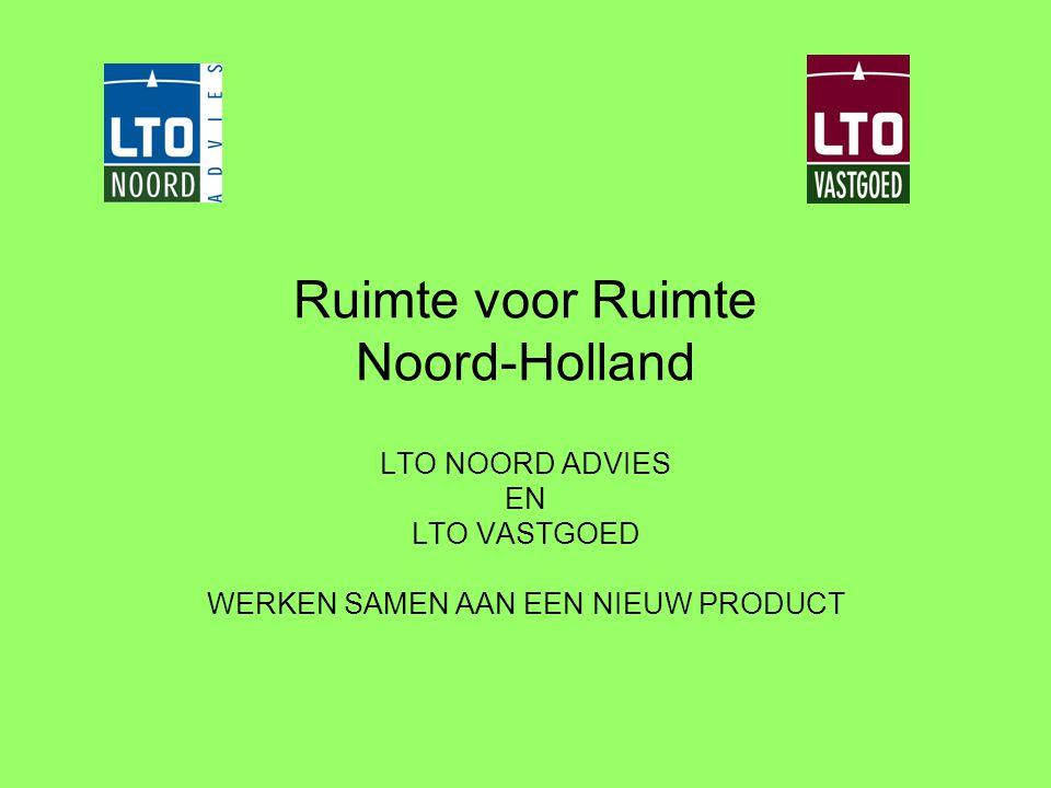 Ruimte voor Ruimte Noord-Holland