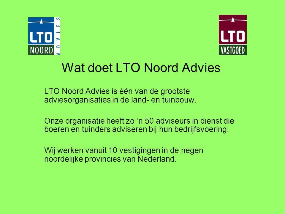 Wat doet LTO Noord Advies