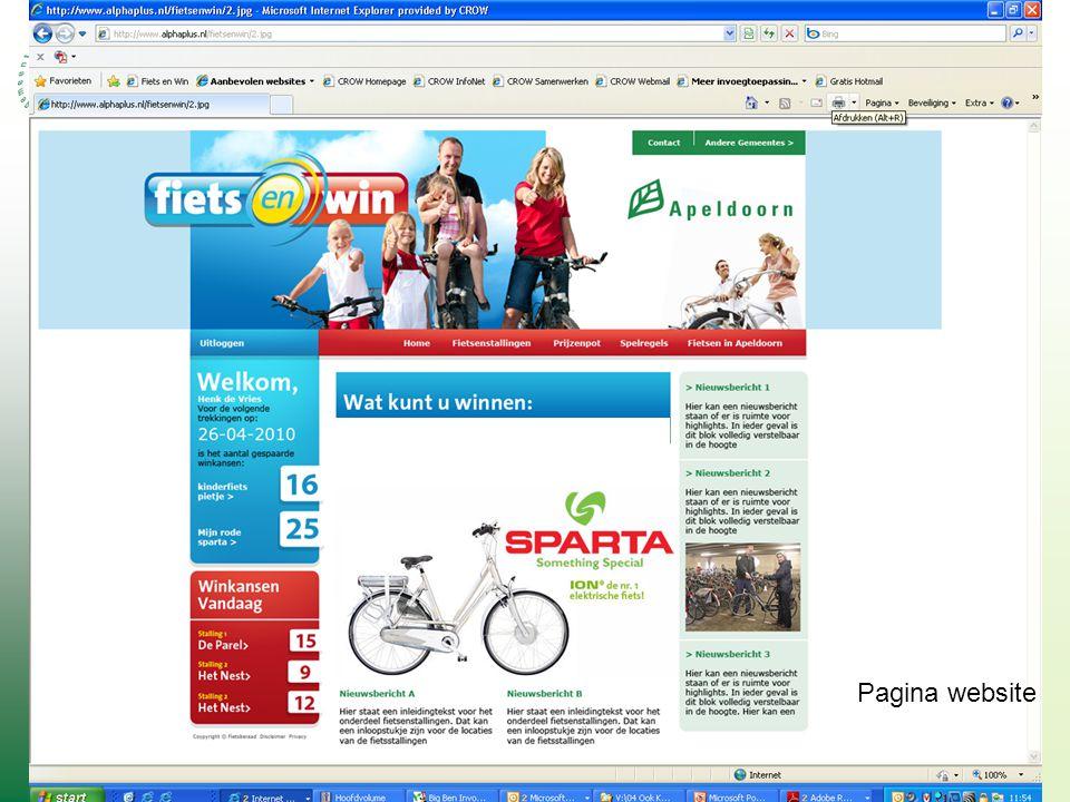 Pagina website