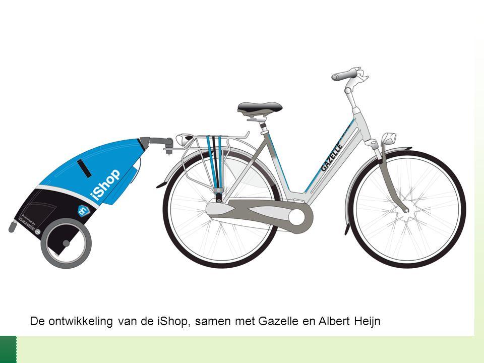 De ontwikkeling van de iShop, samen met Gazelle en Albert Heijn