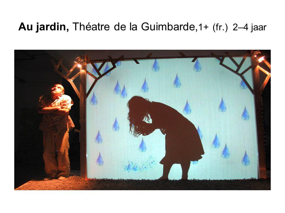 Au jardin, Théatre de la Guimbarde,1+ (fr.) 2–4 jaar