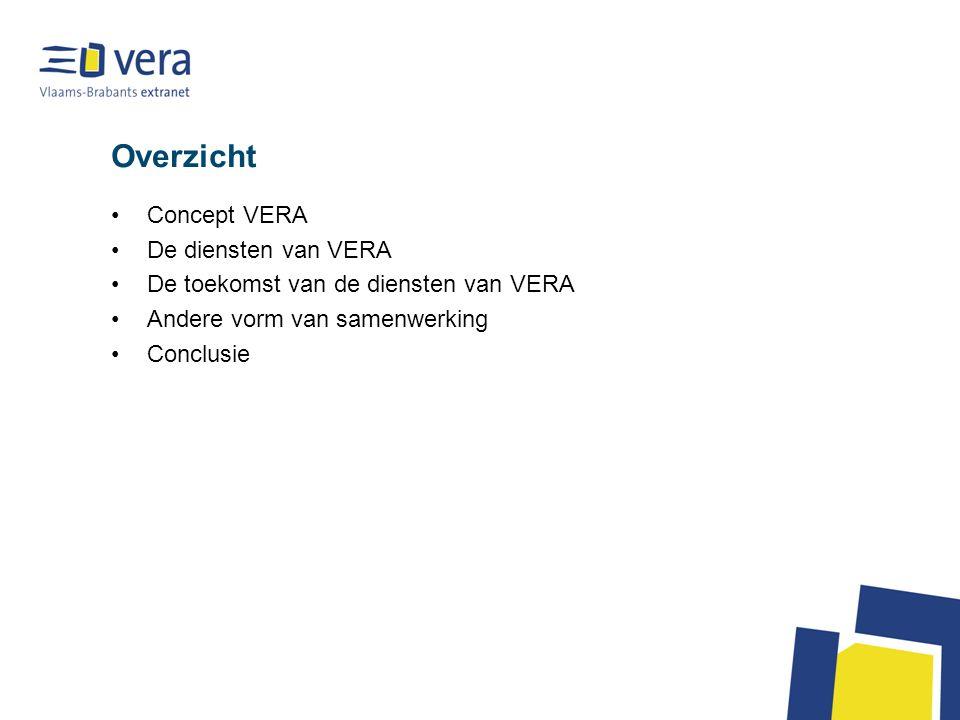 Overzicht Concept VERA De diensten van VERA