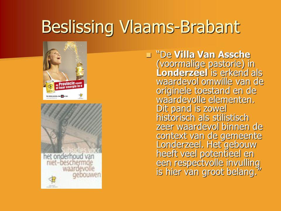 Beslissing Vlaams-Brabant