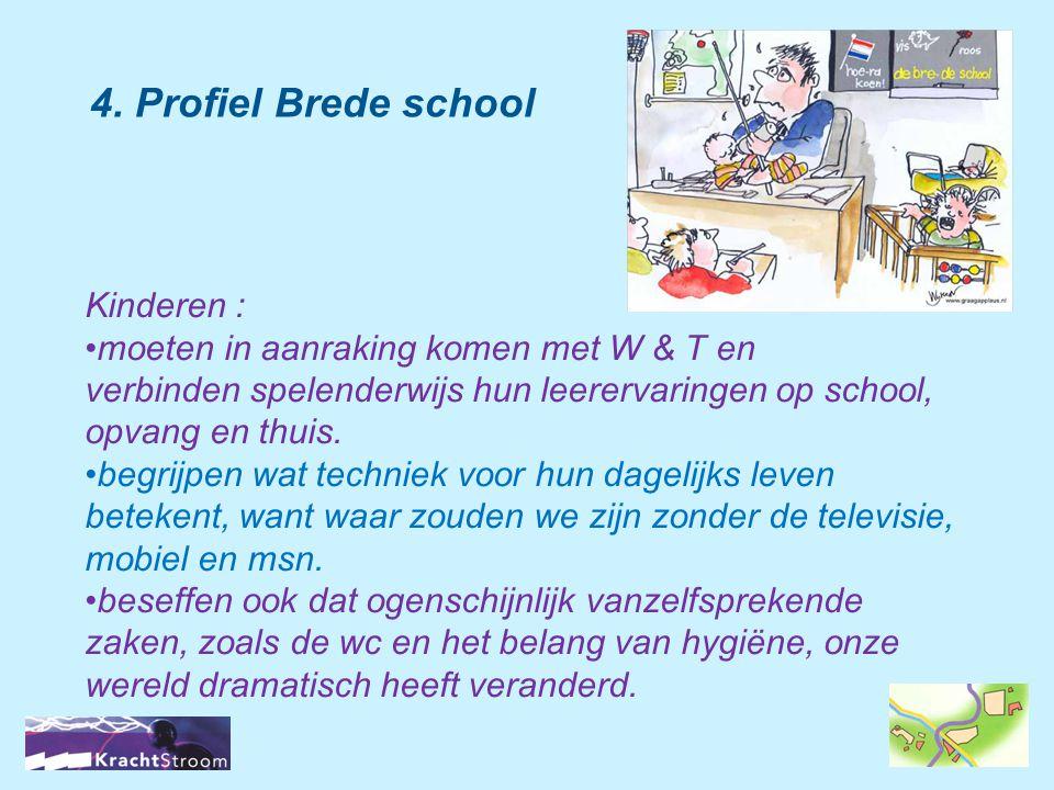 4. Profiel Brede school Kinderen :