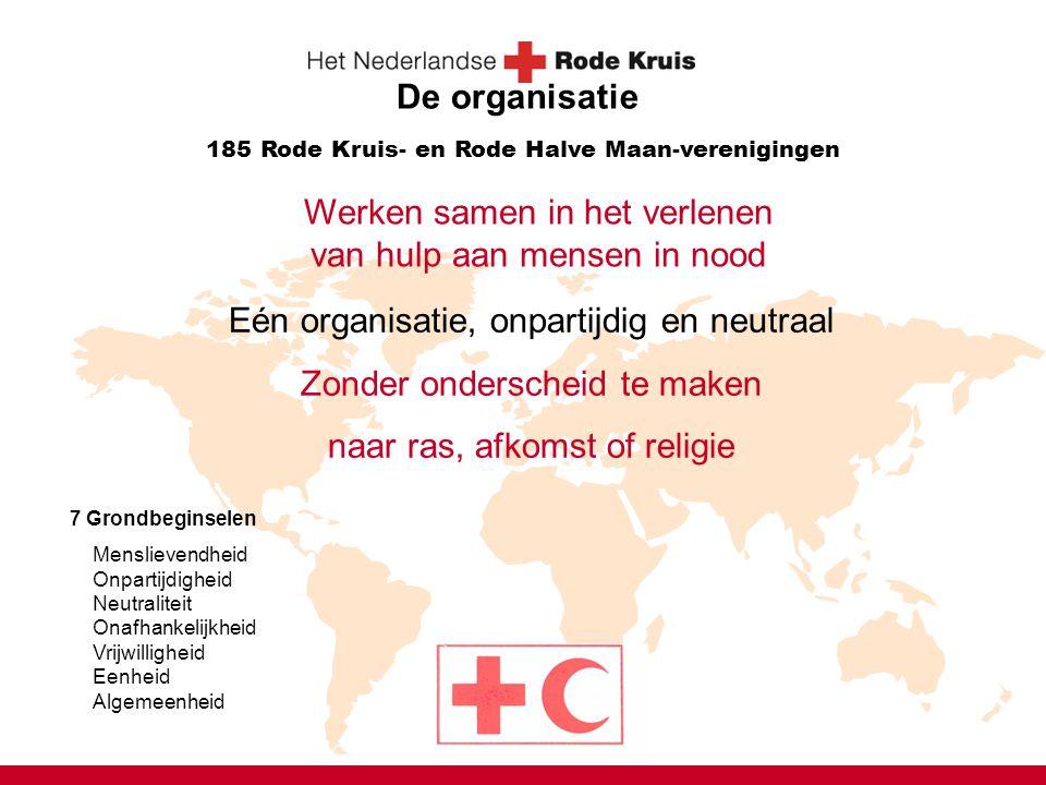 Werken samen in het verlenen van hulp aan mensen in nood