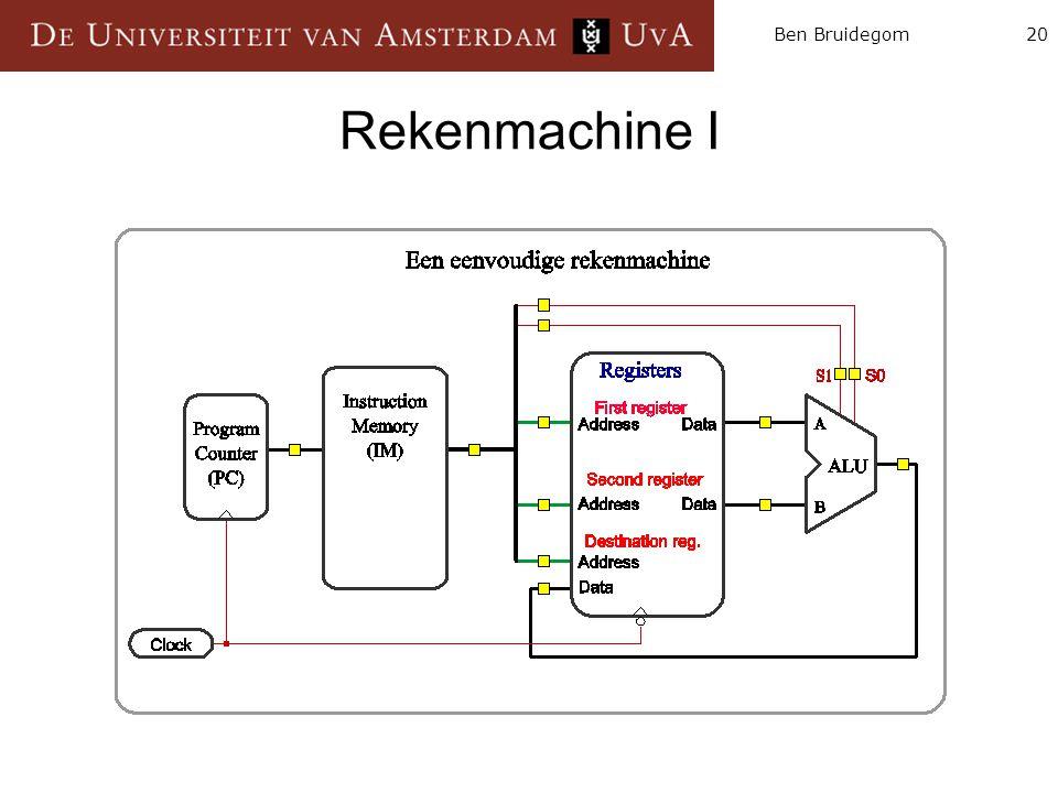 Rekenmachine I