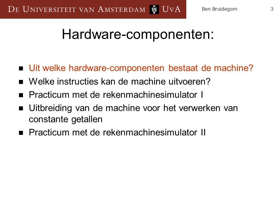 Hardware-componenten: