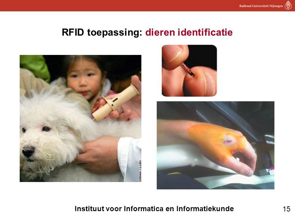 RFID toepassing: dieren identificatie