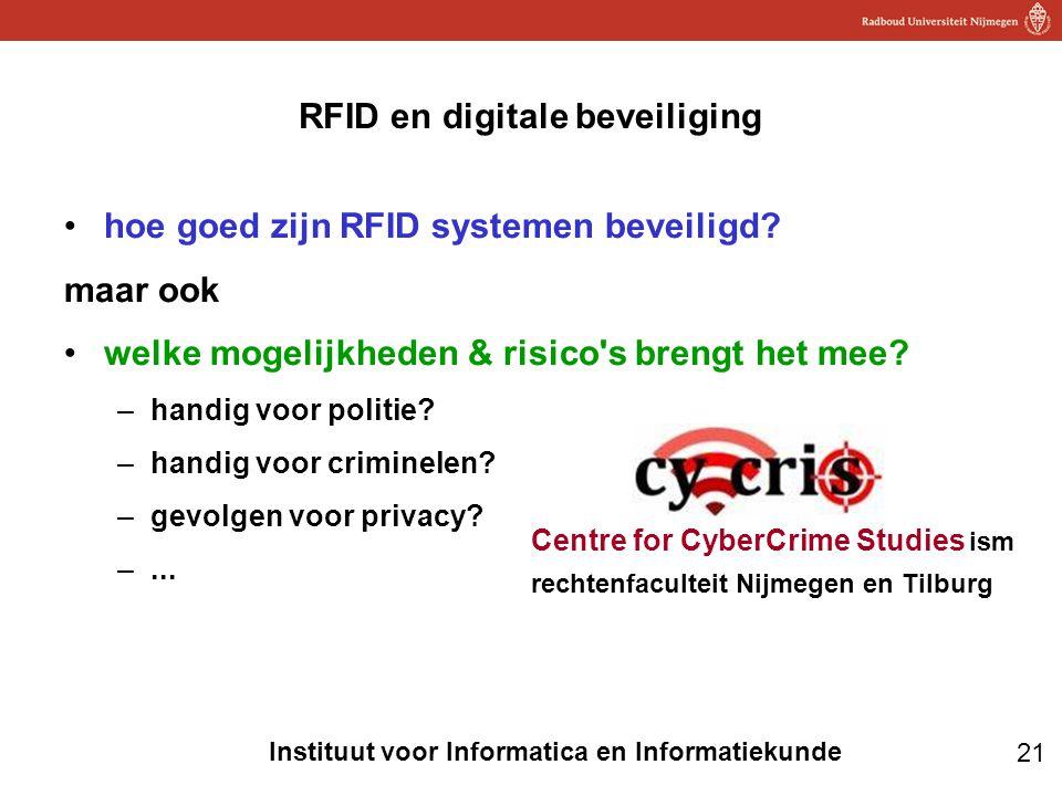 RFID en digitale beveiliging