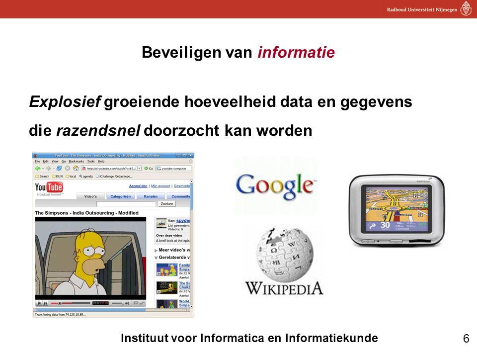 Beveiligen van informatie