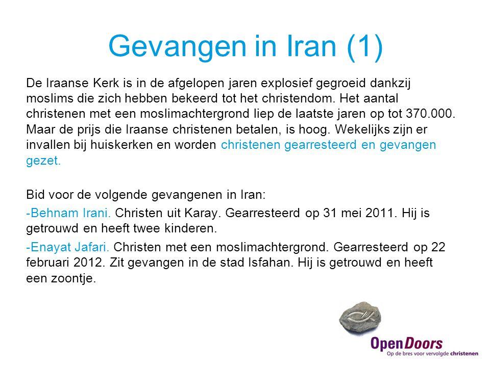 Gevangen in Iran (1)