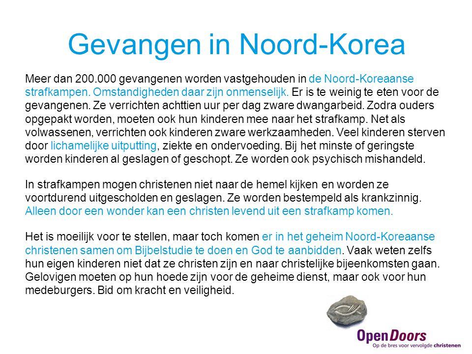 Gevangen in Noord-Korea