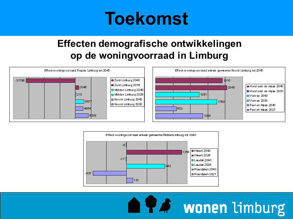 Effecten demografische ontwikkelingen op de woningvoorraad in Limburg