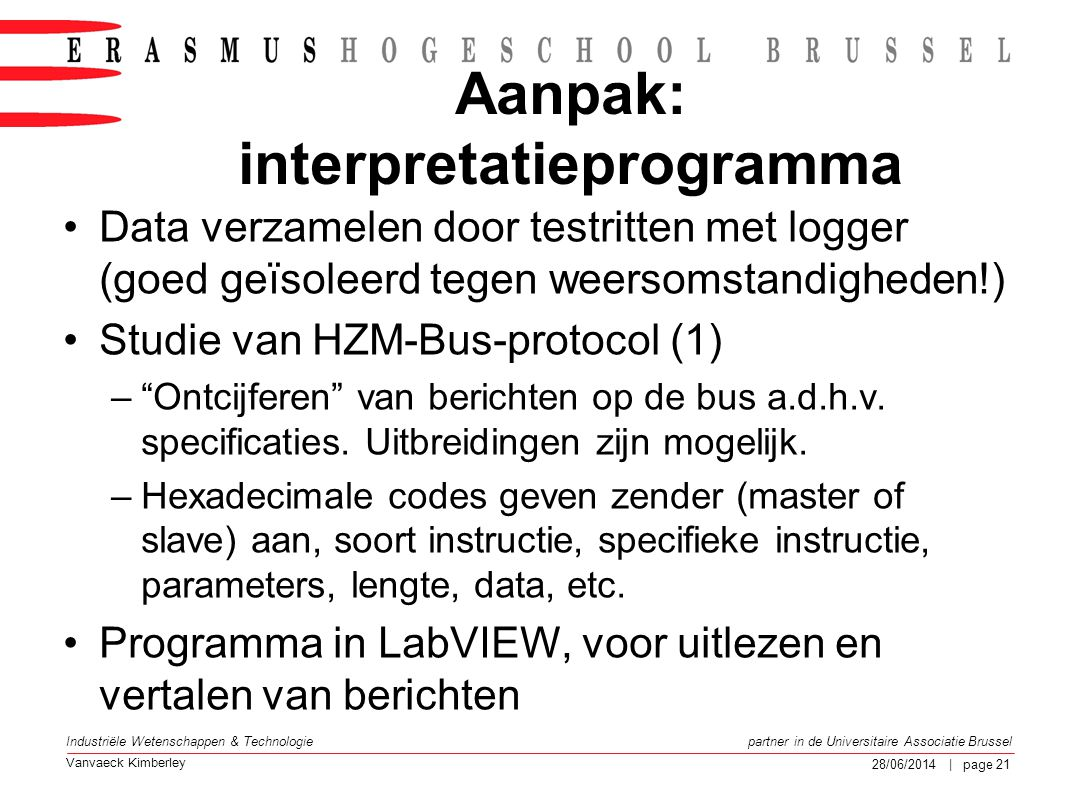 Aanpak: interpretatieprogramma