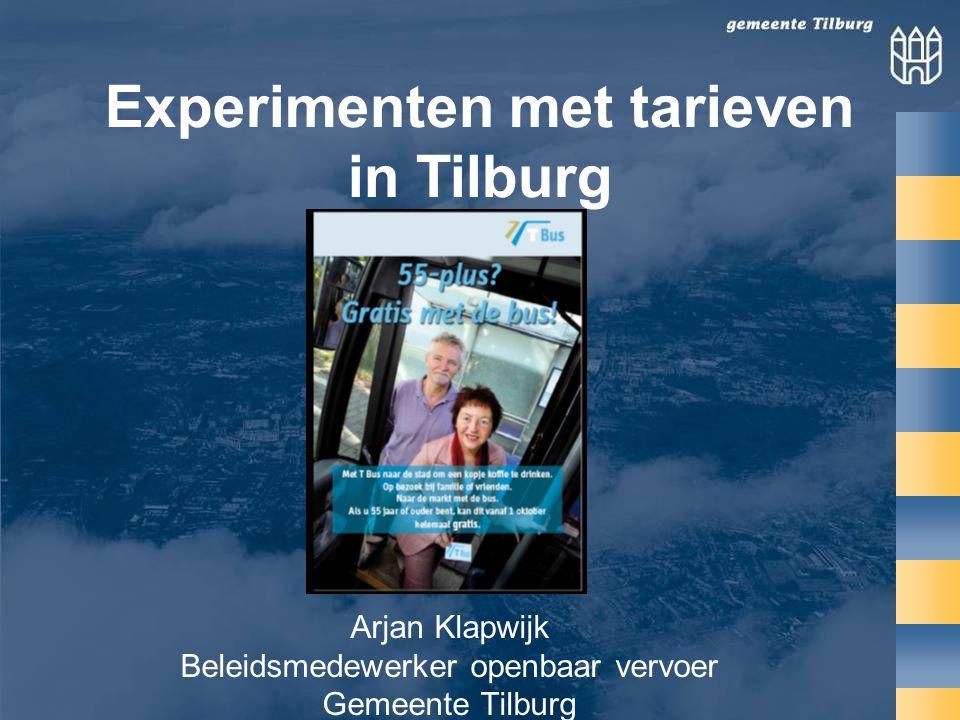Arjan Klapwijk Beleidsmedewerker openbaar vervoer Gemeente Tilburg