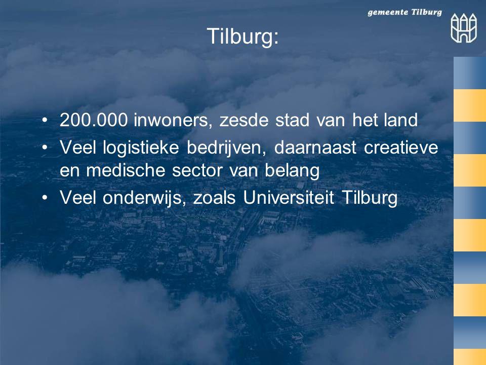 Tilburg: 200.000 inwoners, zesde stad van het land