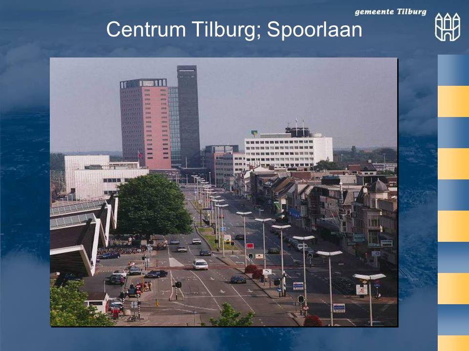 Centrum Tilburg; Spoorlaan
