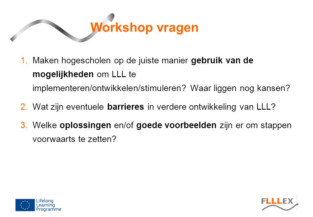 Workshop vragen