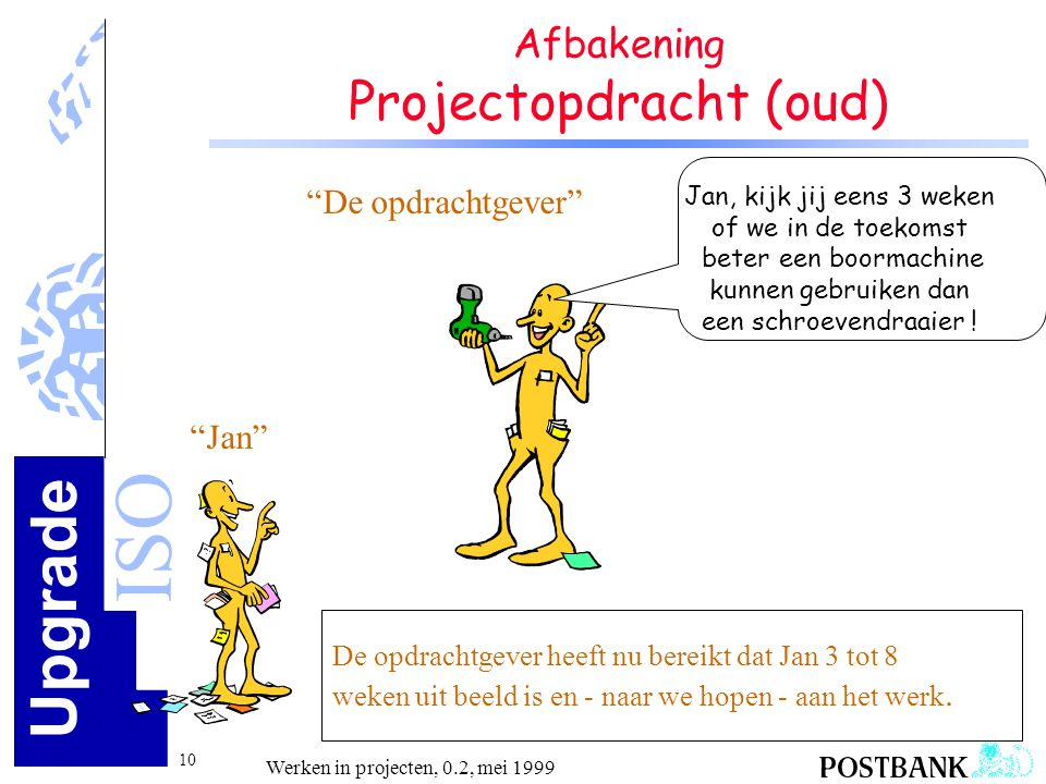 Afbakening Projectopdracht (oud)