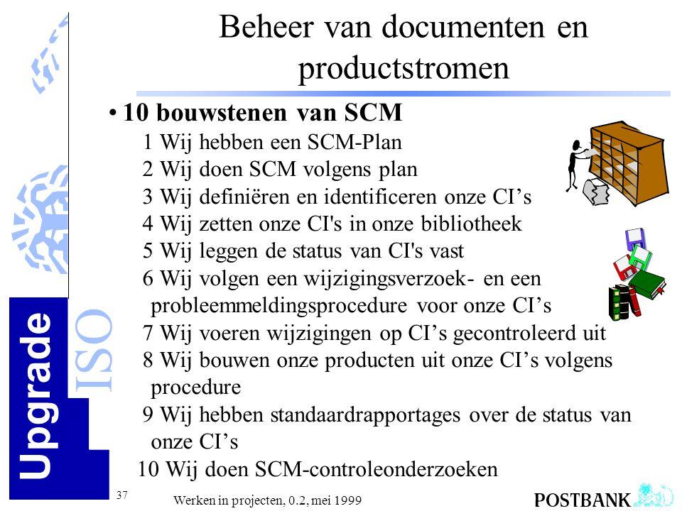 Beheer van documenten en productstromen
