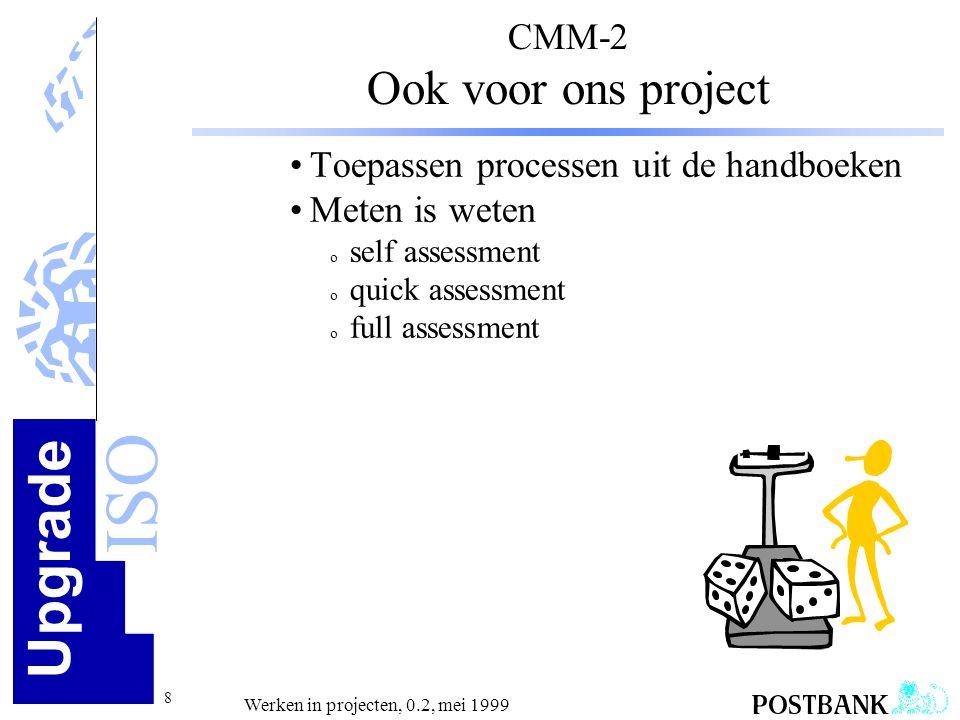 CMM-2 Ook voor ons project