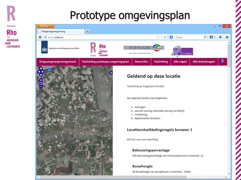 Prototype omgevingsplan