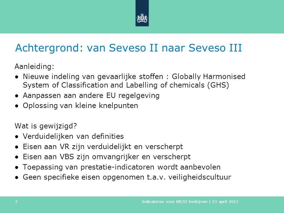 Achtergrond: van Seveso II naar Seveso III