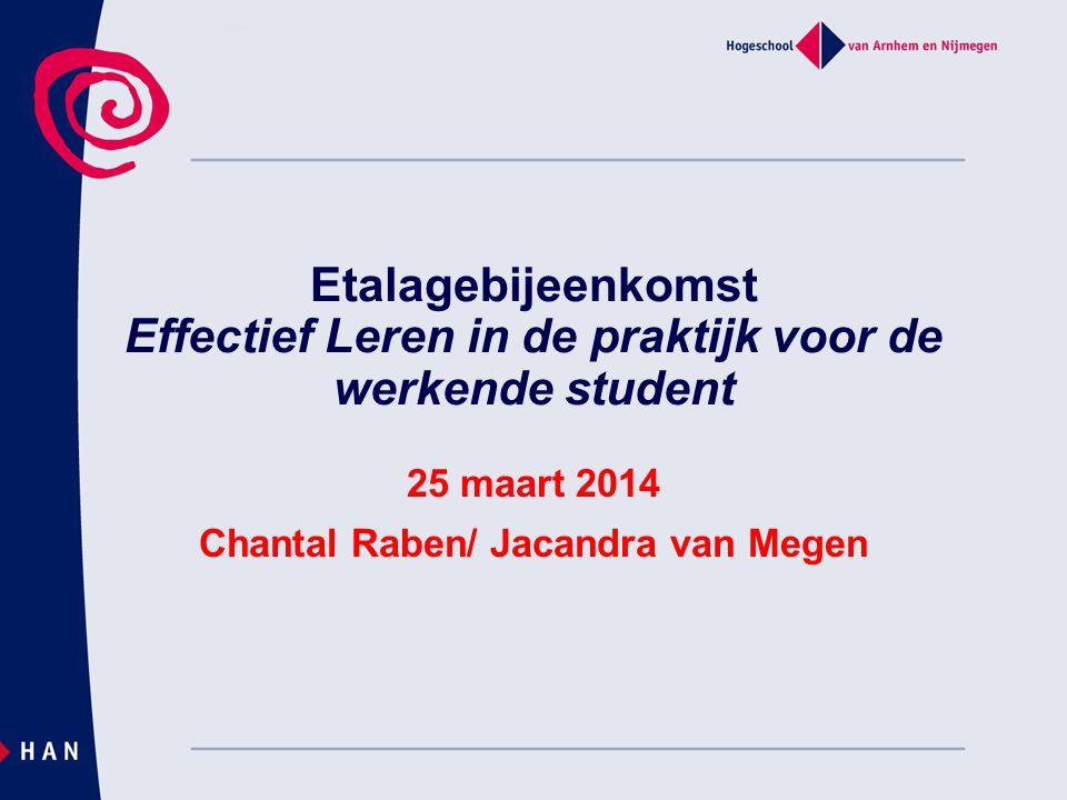 25 maart 2014 Chantal Raben/ Jacandra van Megen