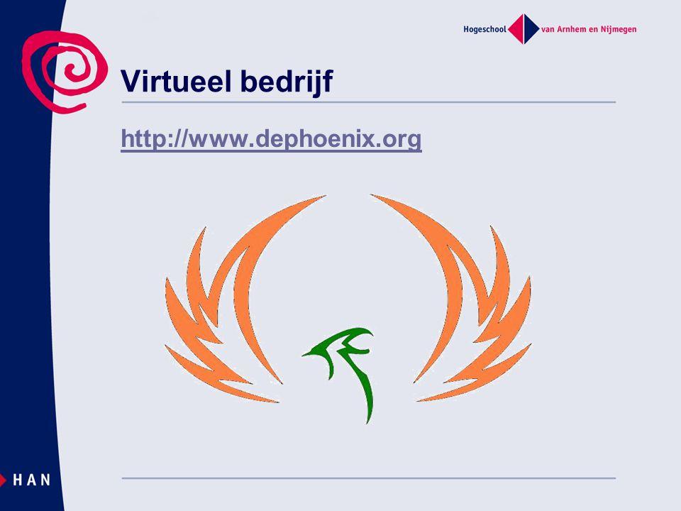 Virtueel bedrijf http://www.dephoenix.org