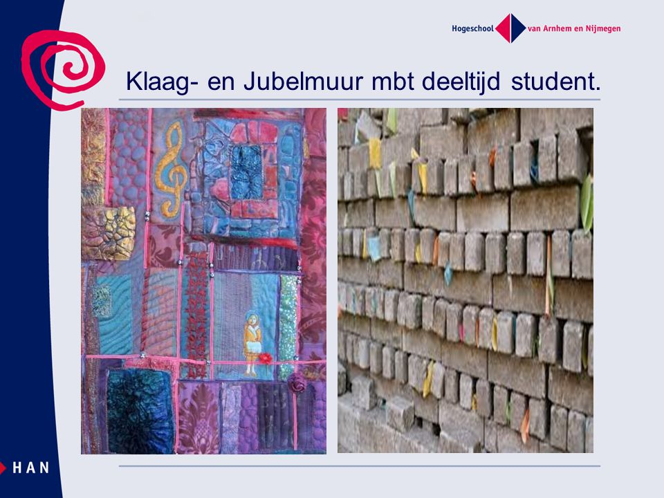 Klaag- en Jubelmuur mbt deeltijd student.
