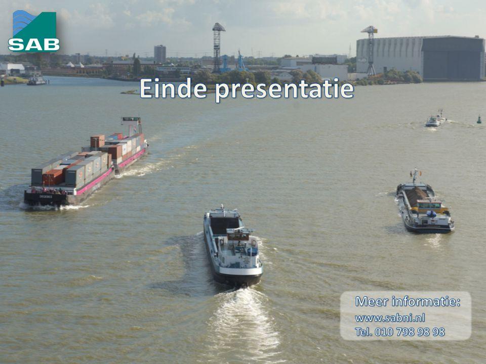 Einde presentatie Meer informatie: www.sabni.nl Tel. 010 798 98 98