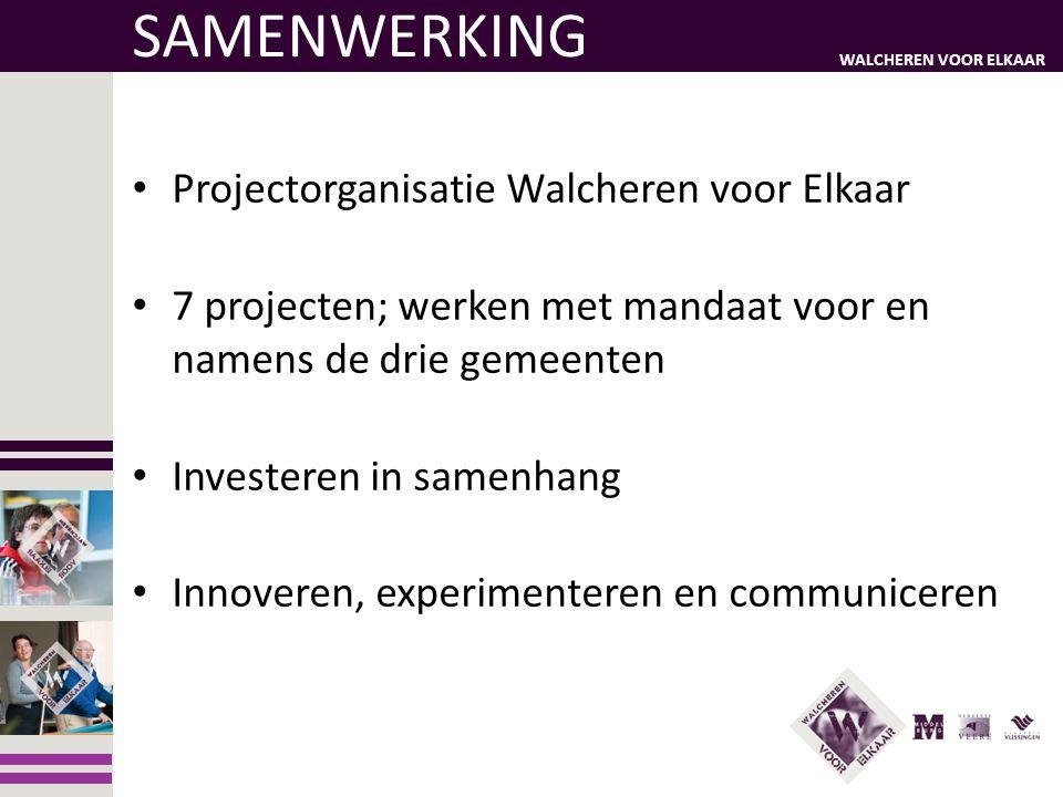 SAMENWERKING Projectorganisatie Walcheren voor Elkaar