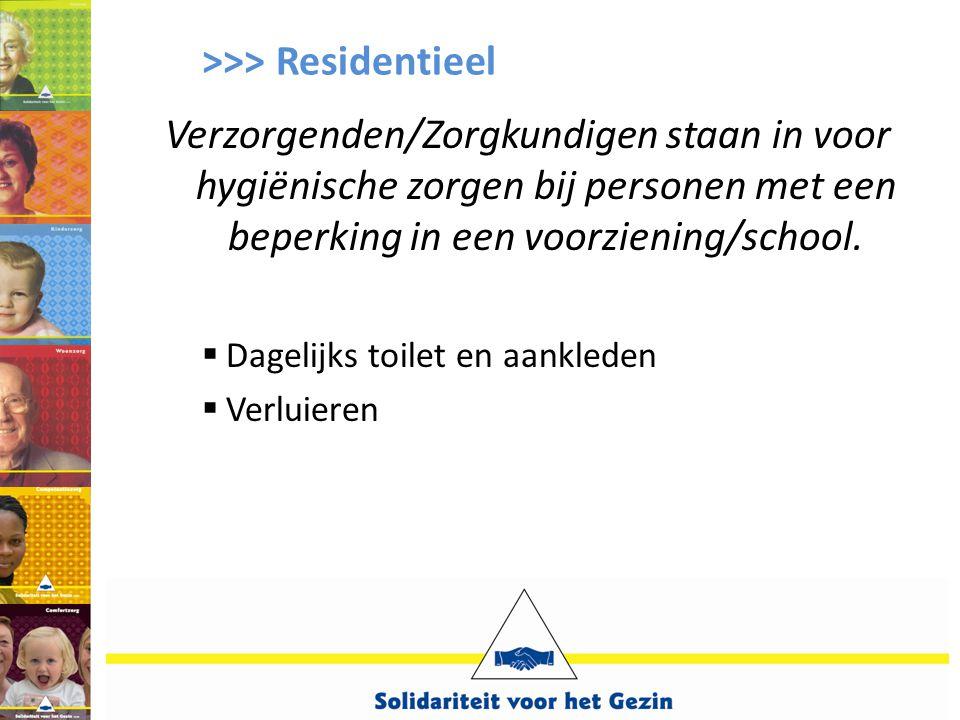 >>> Residentieel