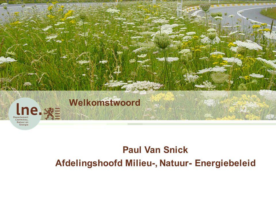 Afdelingshoofd Milieu-, Natuur- Energiebeleid